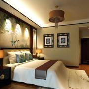 精致时尚卧室整体装修效果图