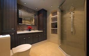 中式风格简约时尚卫生间装修效果图