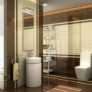 中式风格简约卫生间效果图