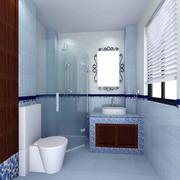 中式风格大空间卫生间装修