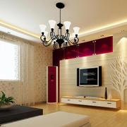 现代简约风格大户型客厅装修设计效果图