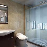 卫生间浴室隔断装修