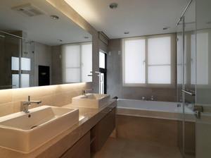 大户型三居室精致卫生间装修效果图
