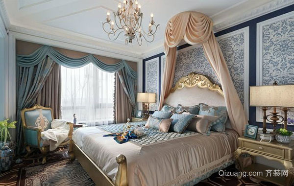 法式端庄典雅时尚卧室装修效果图赏析
