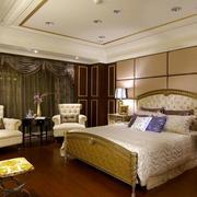 法式精致卧室效果图