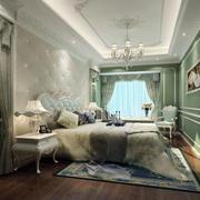 法式别墅型卧室效果图