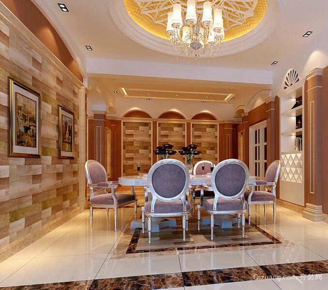 2016欧式风格小户型餐厅室内设计装修效果图