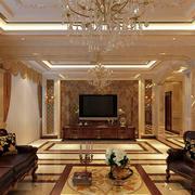 古典欧式豪华别墅卧室装修效果图