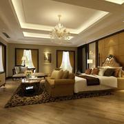 110平米欧式风格卧室室内设计装修效果图