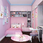 粉色梦幻儿童房