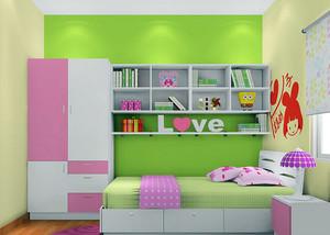 时尚卡通儿童房装修效果图赏析