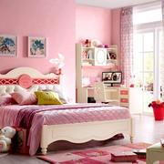 粉色女生儿童房装修效果图