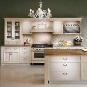 120平米欧式风格厨房橱柜装修效果图