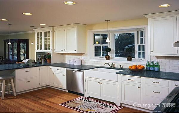 别墅型欧式风格厨房室内吊顶装修效果图实例