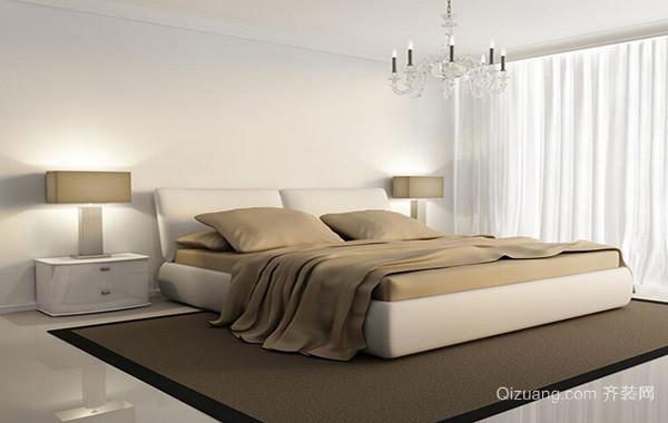 100平米别墅型欧式卧室背景墙装修效果图鉴赏
