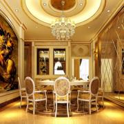 巴洛克风格客厅设计