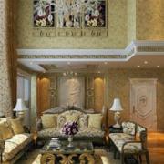 别墅型巴洛克风格客厅
