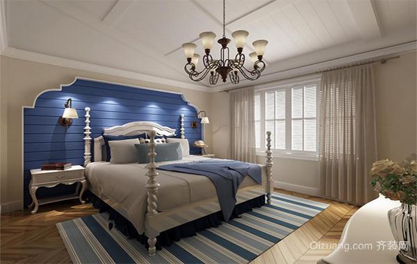 地中海风格简约自然卧室装修效果图