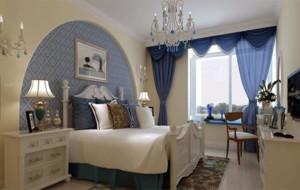 现代地中海风格卧室装修效果图赏析