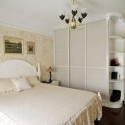 自然朴实卧室效果图