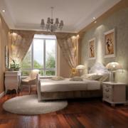 大户型欧式田园风格卧室