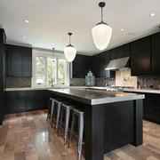 2016欧式风格大户型厨房室内装修效果图
