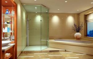 120平米大户型简约时尚卫生间装修效果图
