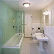 卫生间浴室隔断效果图