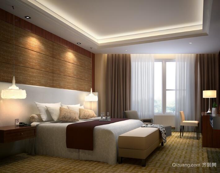 大户型唯美的欧式卧室设计装修效果图