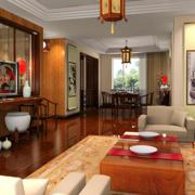 中式客厅整体设计