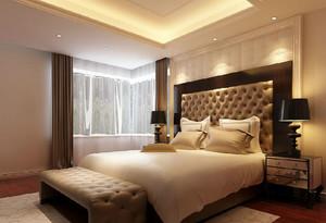 欧式简约时尚大户型卧室装修效果图