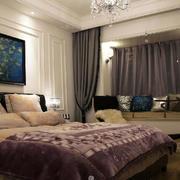 欧式风格简约精致卧室飘窗装修效果图