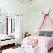 温馨卧室飘窗设计