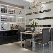 餐厅酒柜设计