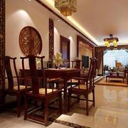 中式餐厅背景墙装修