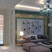 时尚创意客厅背景墙