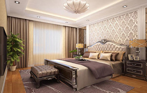 卧室总体设计图