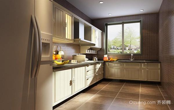 2016欧式大户型精致的厨房吊顶装修效果图
