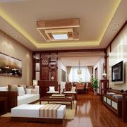 中式风格客厅背景墙效果