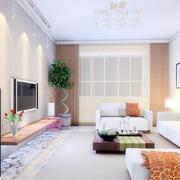 2016欧式风格大户型客厅室内设计装修效果图