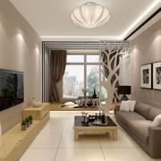 现代风格简约小客厅装修效果图