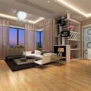 小户型变大空间现代风格简约客厅装修效果图