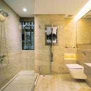 卫生间温暖灯饰设计