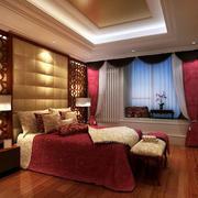 2016欧式大户型卧室室内吊顶装修效果图