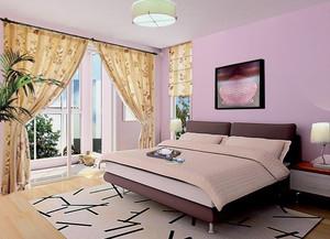 2016别墅型现代简约卧室室内装修效果图