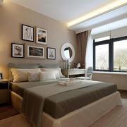 2016大户型时尚欧式卧室室内设计装修效果图