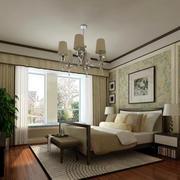 卧室时尚窗帘设计