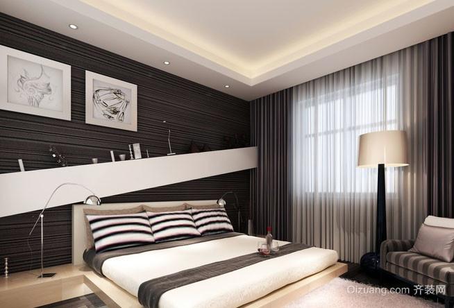后现代风格时尚卧室装修效果图