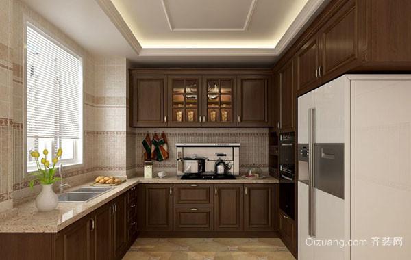 欧式风格精致厨房装修效果图大全