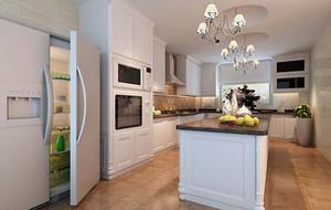 简欧风格精致大厨房装修效果图大全